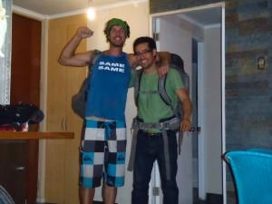 Ivan and Ben in Santiago