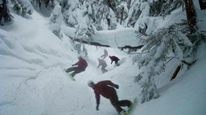 Ripping up the backcountry, BC Canada