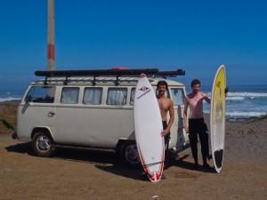 surfing bus