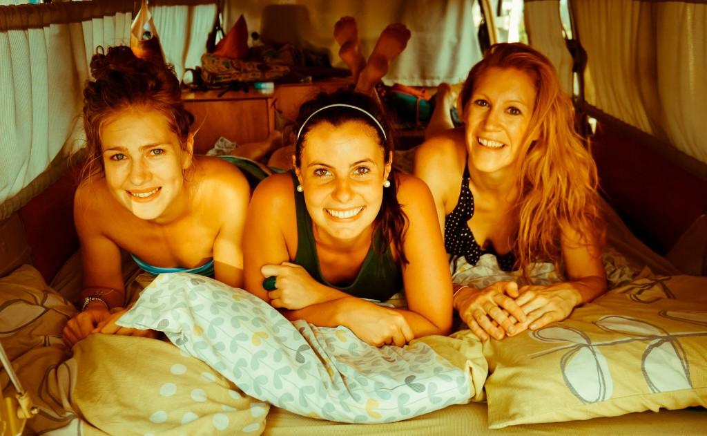 Kombi Girls, Amy, Lana and Laura