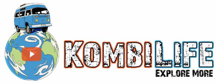 Kombi Life Adventure Travel Series Logo