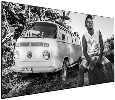 Latin Rhythm VW Bus - Print