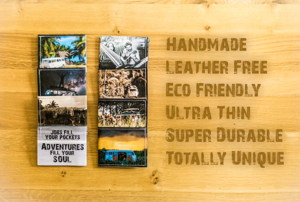 Handmade Vegan Wallets