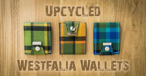 UpCycled WestFalia Wallets