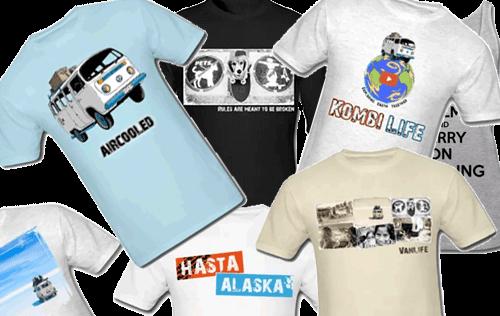 Kombi Life T-shirts
