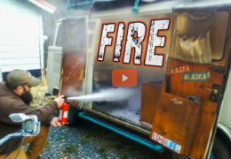 OUR VW BUS FIRE DISASTER