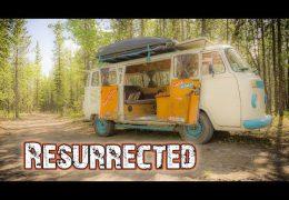 VW Bus Restoration After a Fire – Hasta Alaska – S05E08
