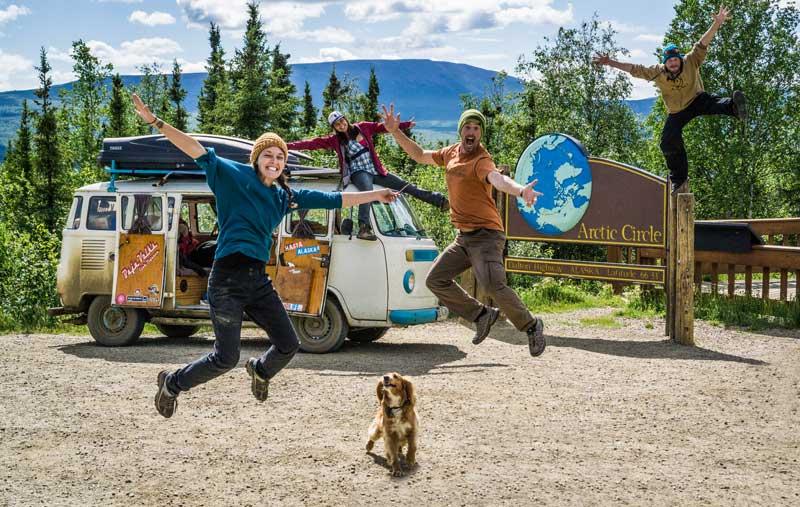 Celebrating BIG in the Arctic Circle, with Ben & Alaska, Sandy and Morgan