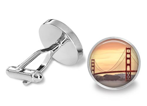 san francisco cufflinks