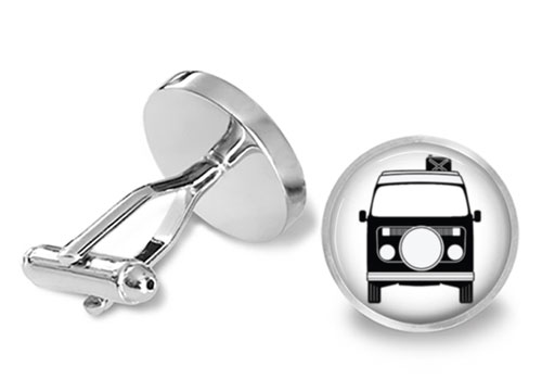vw bus cufflinks