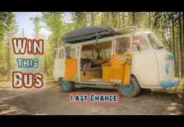 WIN OUR VW BUS – LAST CHANCE!