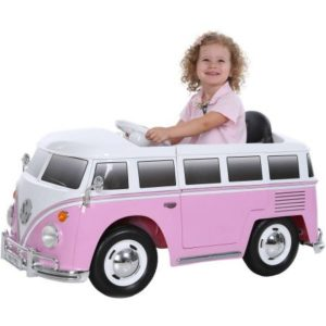 VW kids car pink