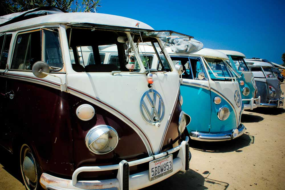 California Split Window VW Bus