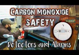Campervan Carbon Monoxide Detectors
