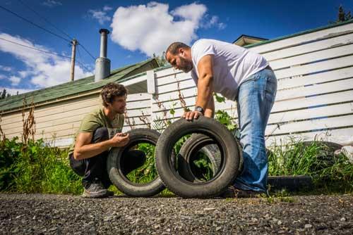 Van Life - Tire Maintenance