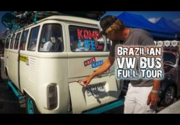 Brazilian VW Bus ~ Full Tour