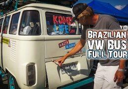 Brazilian VW Bus ~ Full Tour
