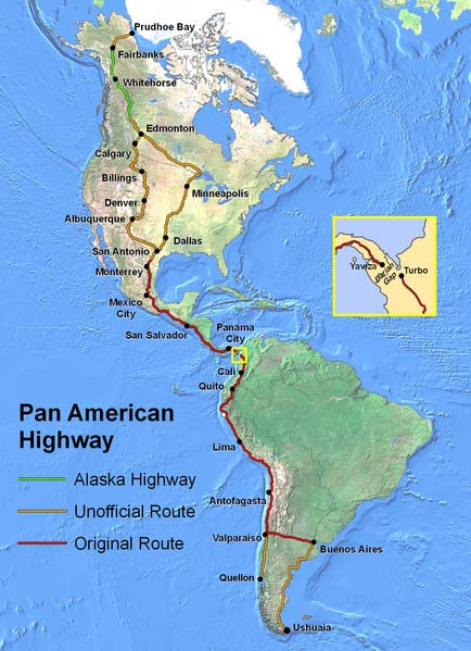 10 Reasons to add The Pan-American Highway to your Bucket List