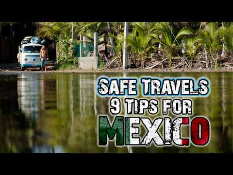 van travel tips for mexico