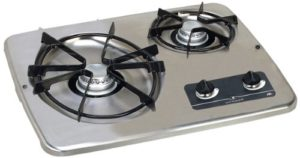 atwood 2 burner stove top