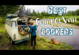 Van Life Kitchen  // Stove and Cooker Options for Mobile Living
