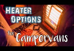 Campervan Heating Options // Van Life
