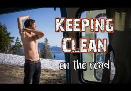 Van Life Keeping Clean // 7 Ways to Stay Fresh On The Road