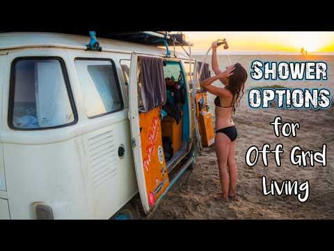 Campervan Shower Options