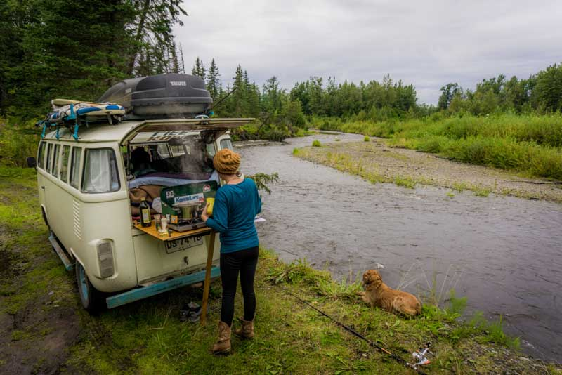 Van Life Kitchen