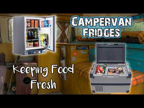 Campervan-Fridge and cooler options