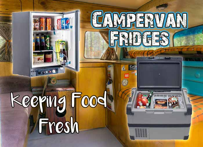 Campervan Fridge and Cooler Options // Keeping Food Fresh