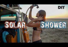 DIY Road Shower for Van Life