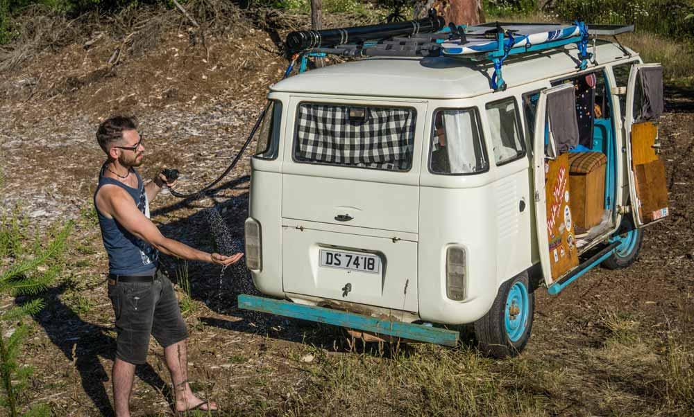 Van-Life-DIY-Shower