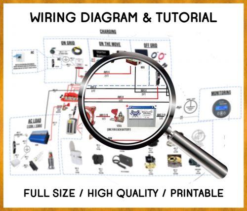 Campervan-Electrical System Wiring Diagram