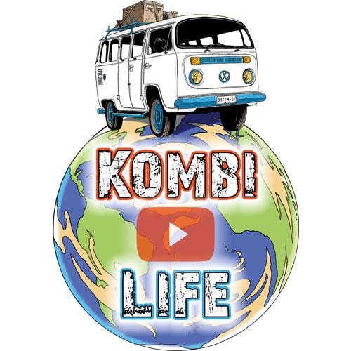 Kombi life sticker