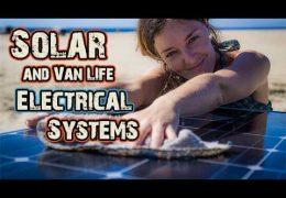 VAN TOUR: Campervan Electrical System & Solar Overview