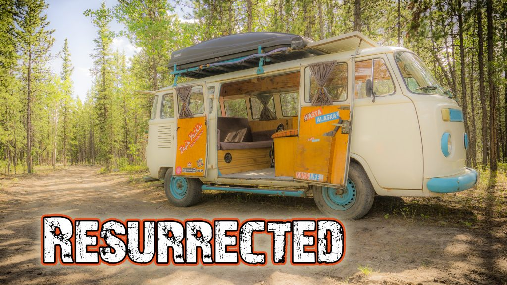 VW bus restoration