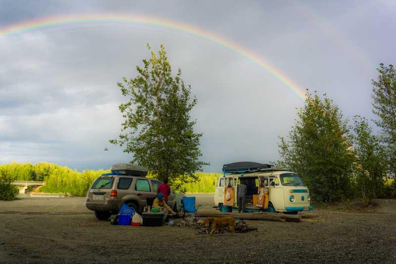 Alaska-Camping