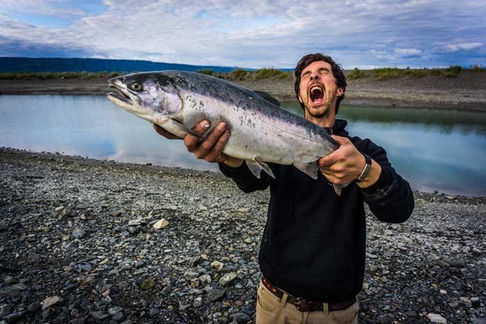 Salmon Fishing-Homer