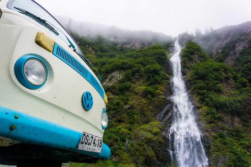 Bridal Veil Falls, Valdez Alaska