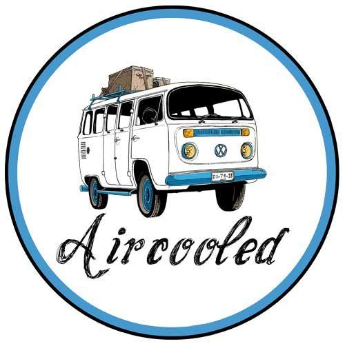 Aircooled Kombi Sticker