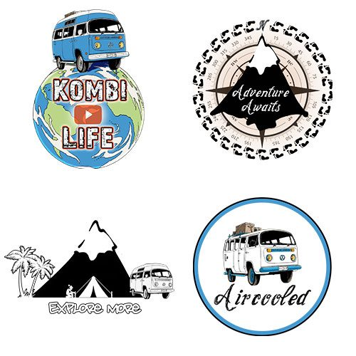 Kombi-Life-Sticker-Pack