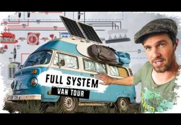 HIGH TECH VAN TOUR: Campervan Electrical & Solar Systems Explained