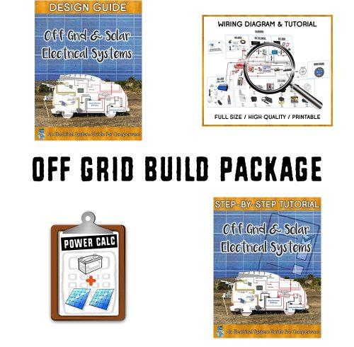 Van Life Off Grid Build Guide Book