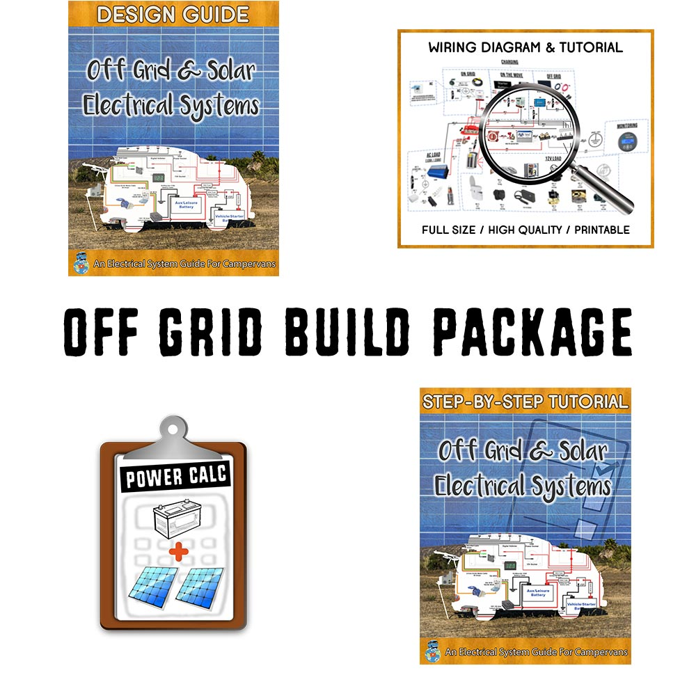 Van Life Off Grid Build Guide Book