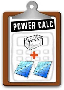 vanlife power calculator