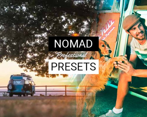 NOMAD LIGHTROOM PRESETS - Cover