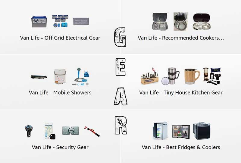 Browse the Best of Van Life Essential Gear